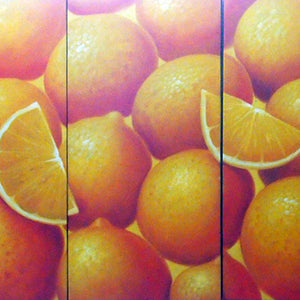 FWTT19313 - Triptych Original Oil Painting