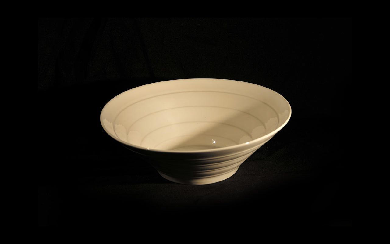 HCCH4673 - Ribbed Medium Salad Bowl