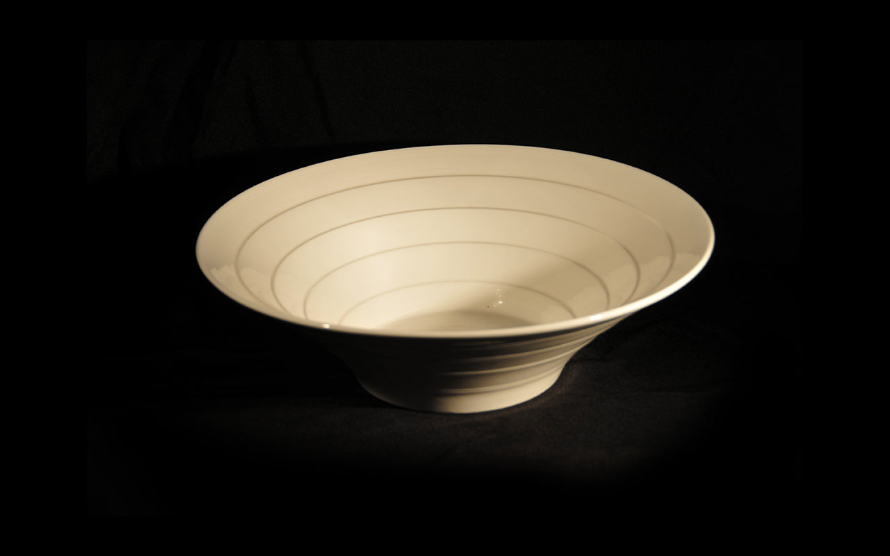 HCCH4674 - Ribbed Large Salad Bowl