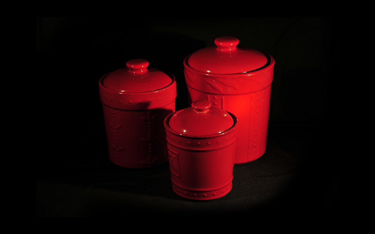 HCCH4689 - Red Mix N Match Medium Cannister
