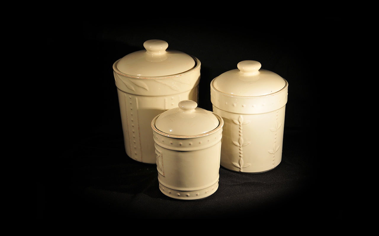 HCCH4706 - Cream Mix N Match Large Cannister