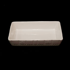 HCCH4719 - White Large Baking Dish