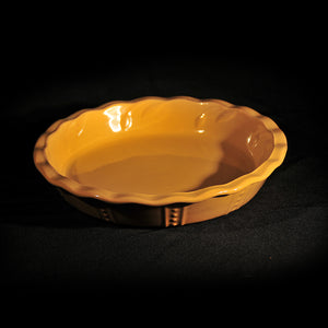 HCCH4726 - Mustard Mix N Match Pie Plate