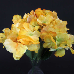 HCFL5987 - Mixed Yellow Hydrangea Bouquet