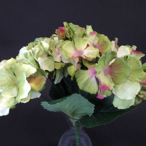 HCFL5990 - MIxed Green Hydrangea Bouquet