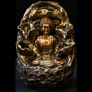 HCFT5434 - Buddha in Oval Grotto Fountain