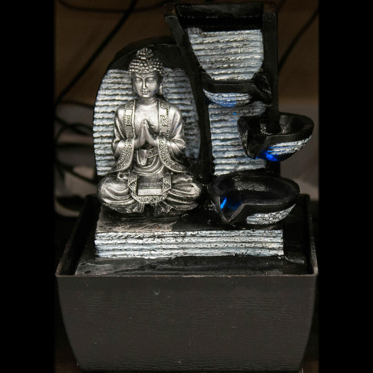 HCFT5435 - Grey Buddha with Pots