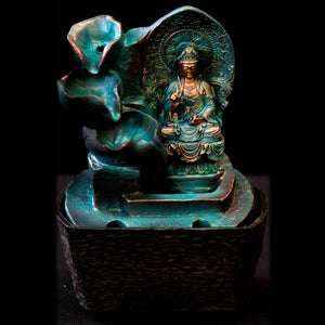 HCFT5455 - Blue Peaceful Buddha