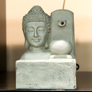 HCHD5039 - Grey Buddha Head Fountain