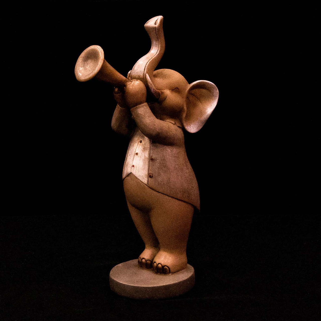 HCHD5069 - Musical Elephant with Trumpet