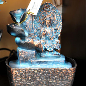 HCHD5139 - Blue Buddha & Pots Fountain