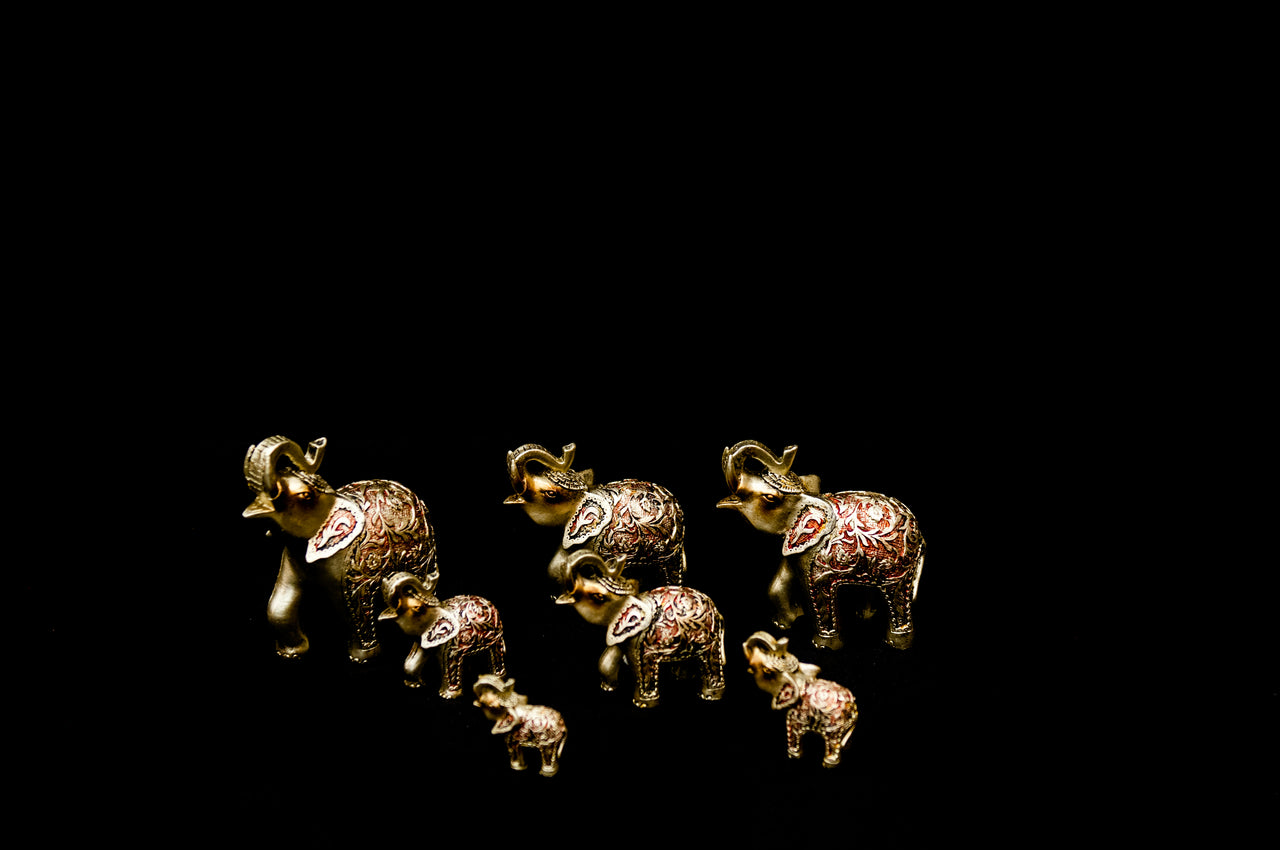 HCHD5241 - Silver Elephant Set - 6 of 7