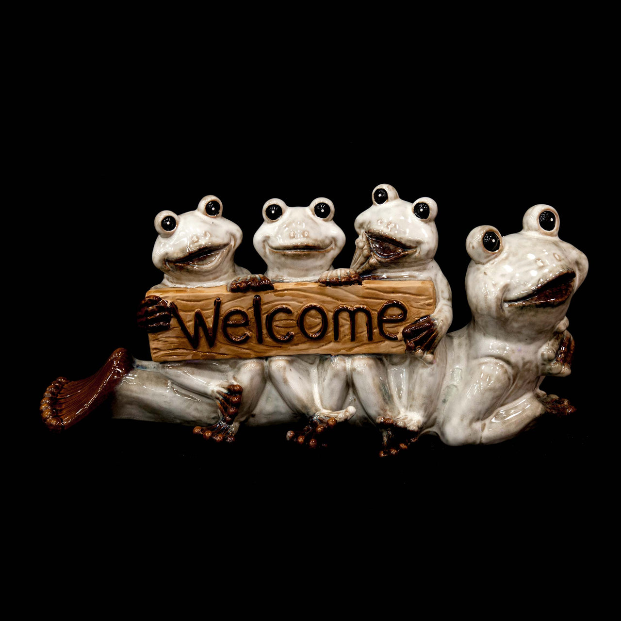 HCHD5317 - Ceramic Welcome Frogs