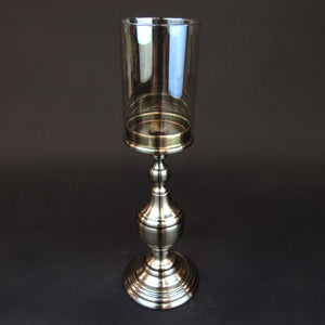 HCHD5759 - Pewter Classic Candle Holder Large