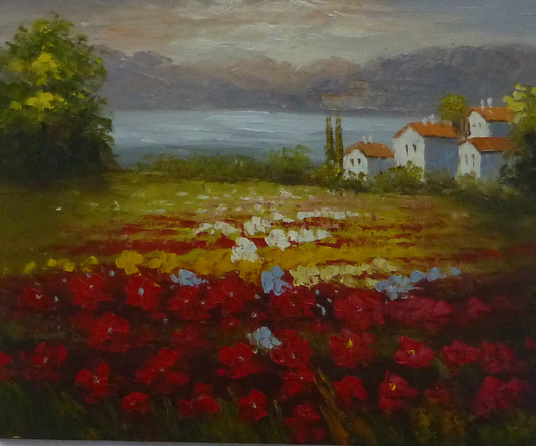 "LS2411833 - 20""x24"" Original Oil Painting"