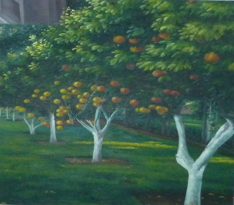 "LS3111797 - 30""x30"" Original Oil Painting"