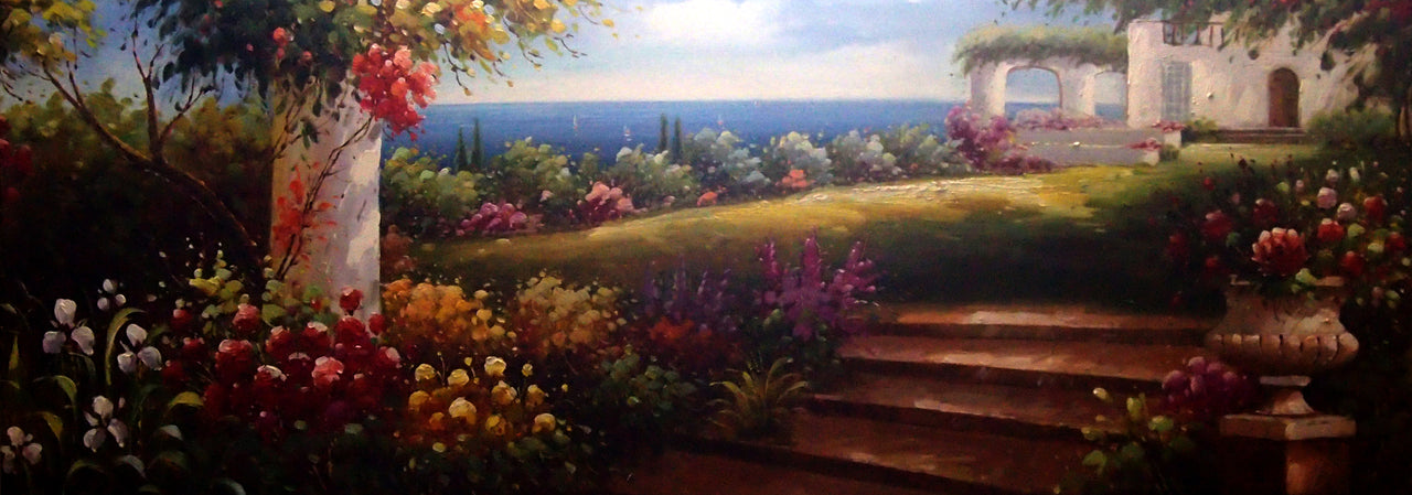 "LS6820324 - 24""x72"" Original Oil Painting"