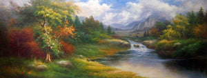 "LS7218944 - 48""x72"" Original Oil Painting"