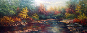 "LS7218947 - 48""x72"" Original Oil Painting"