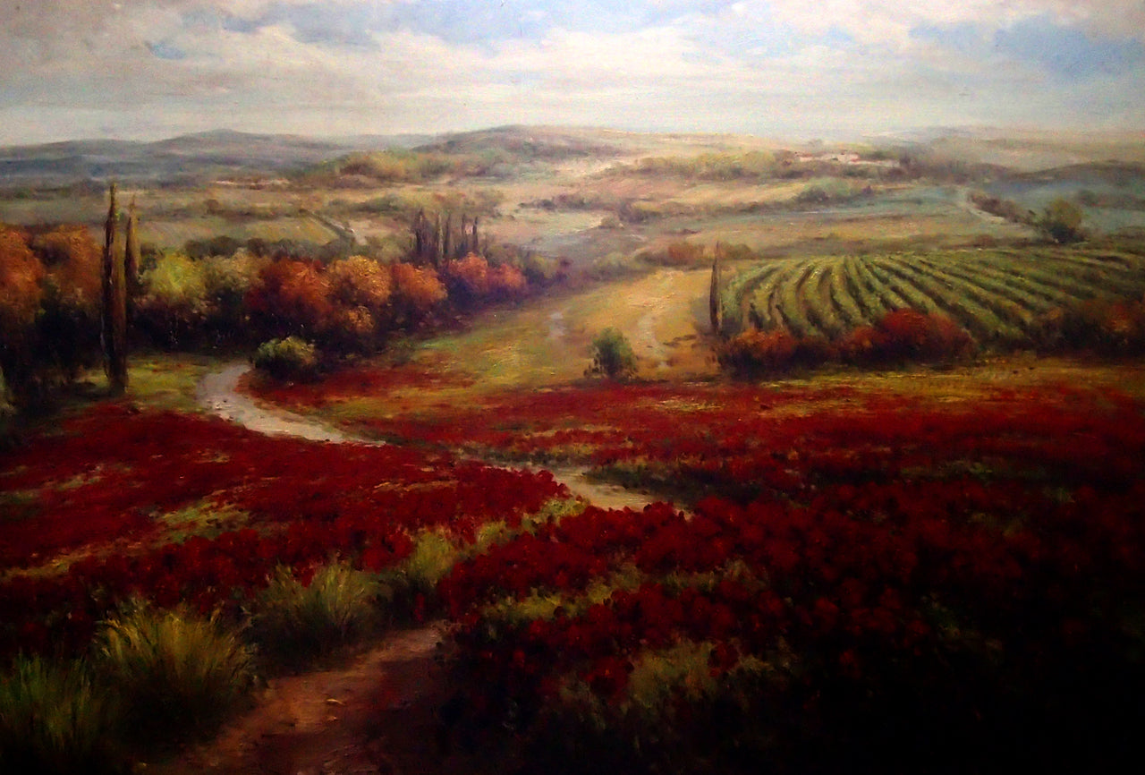 "LS7220353 - 48""x72"" Original Oil Painting"