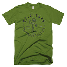 GETABOARD- MEN's Spaceman Dan- Short sleeve T-shirt