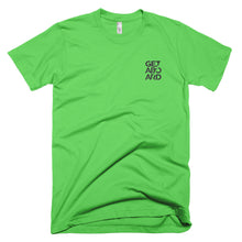 GETABOARD- MEN's Front- Stacked- Short Sleeve T-shirt