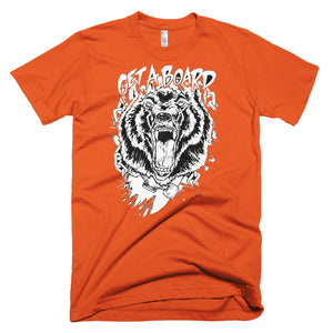 GETABOARD- Raging Bear- Short sleeve MEN's T-shirt
