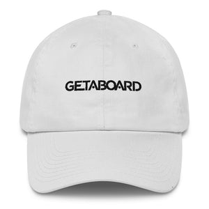 GETABOARD Lettered Cotton Cap
