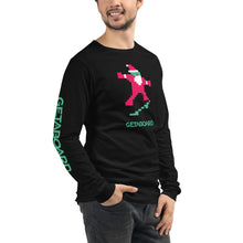 "Skatin' Santa ""Can Ollie"" Long Sleeve Tee 2.0"