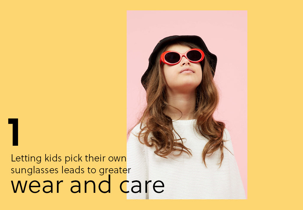 Let Kids Choose Their Own Sunglasses