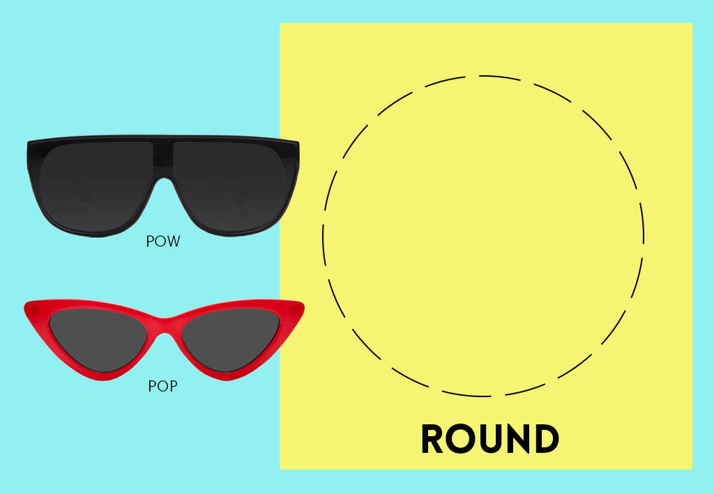 Sunglasses for Round Face Shape