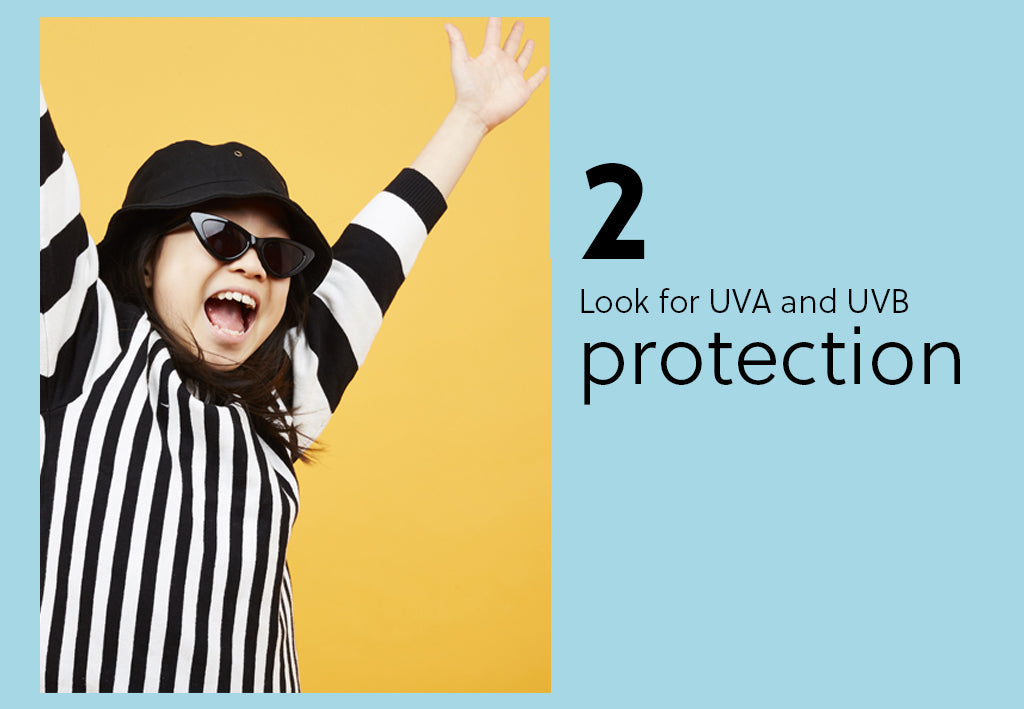 look for uv protection