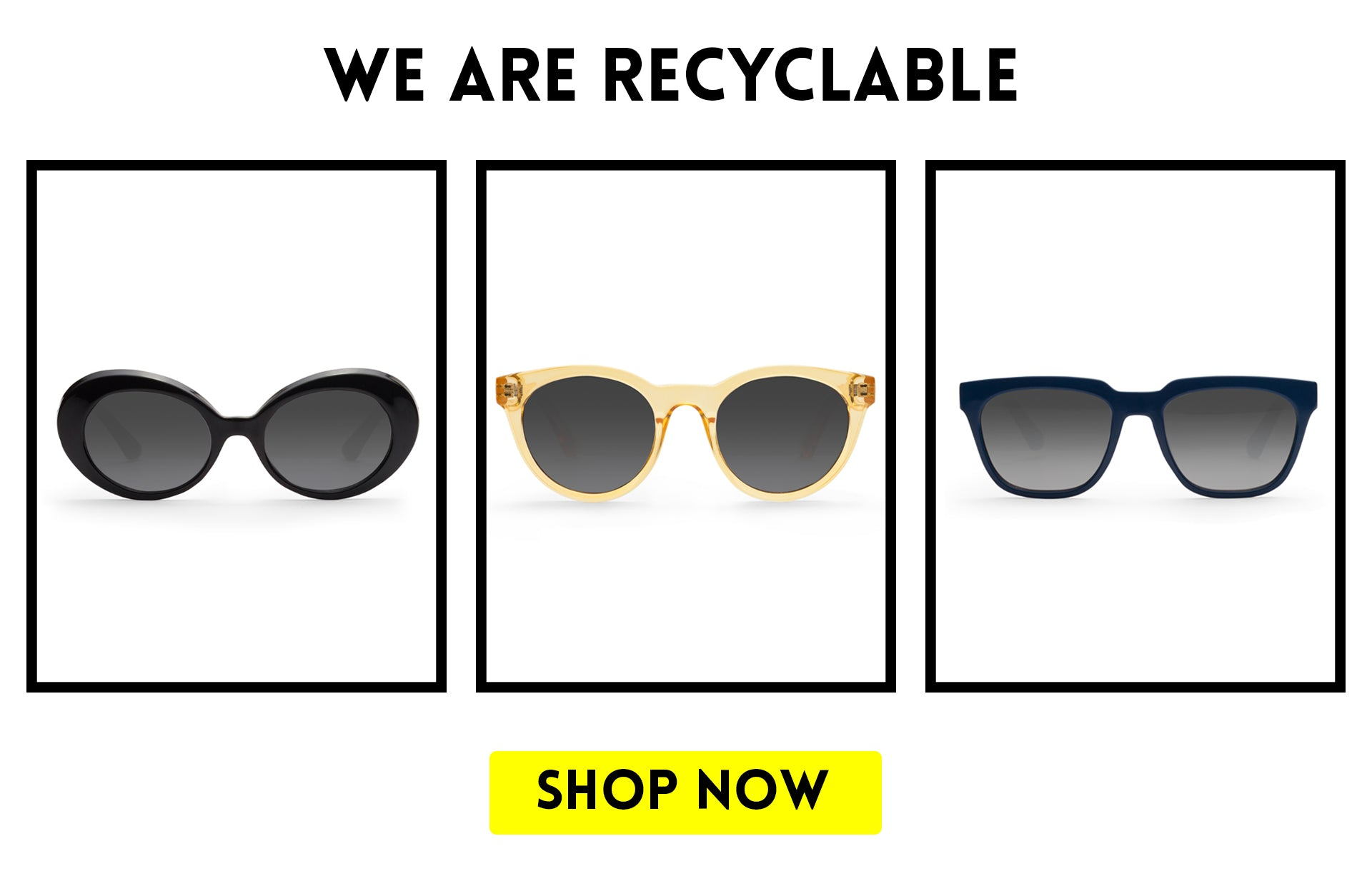 Shop recyclable sunglasses
