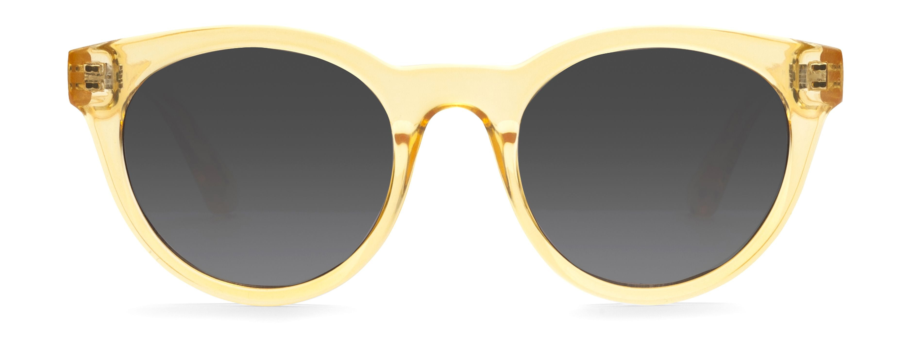 FIZZ Yellow JUNiA Kids Sunglasses
