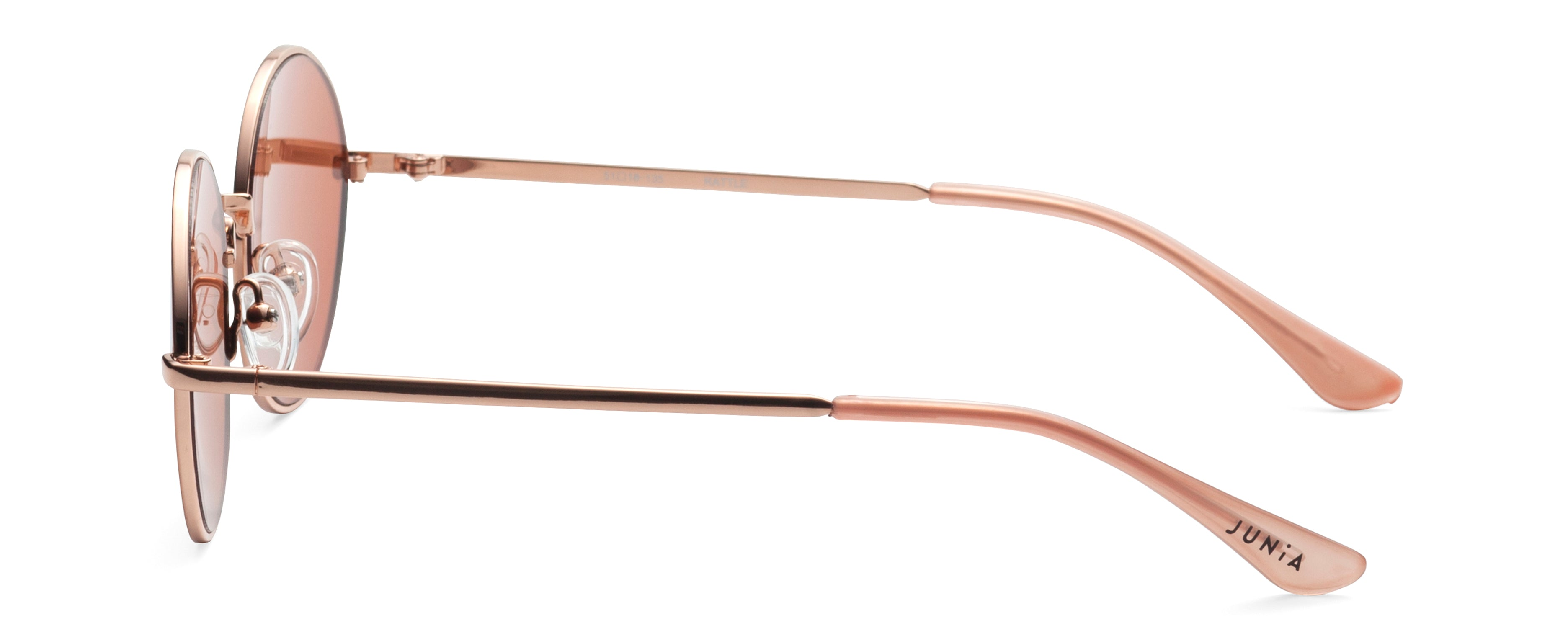 RATTLE Rose Gold JUNiA Kids Sunglasses