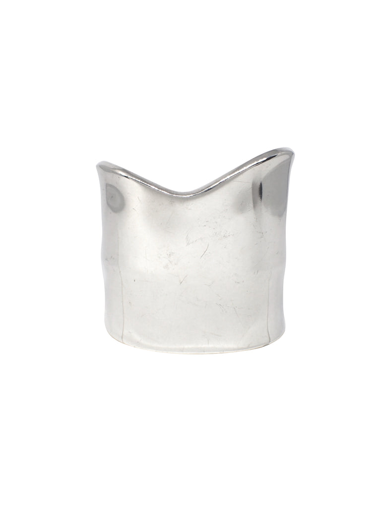 Large Wave Cuff  / Sterling Silver