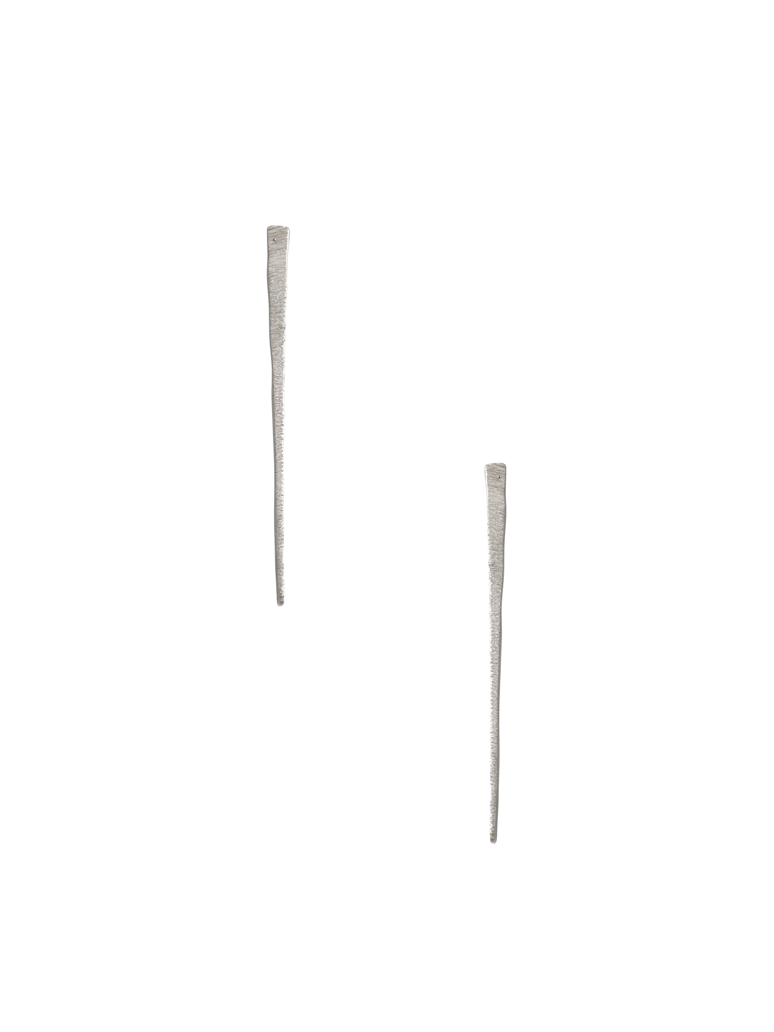 Bar Drop Earrings / Sterling Silver
