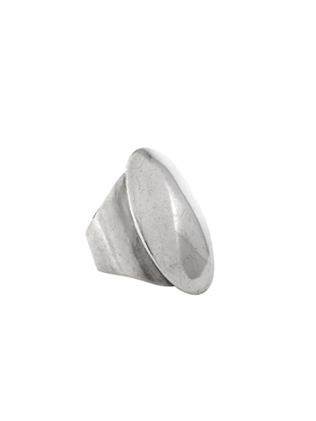 Oval Ring / Sterling Silver