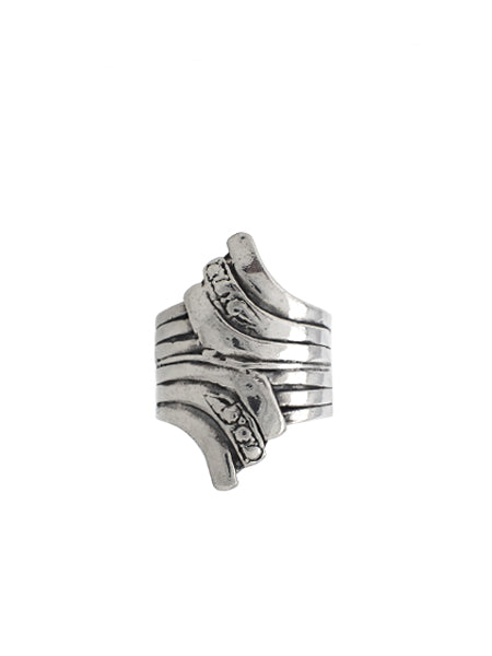 Wing Wrap Ring / Sterling Silver