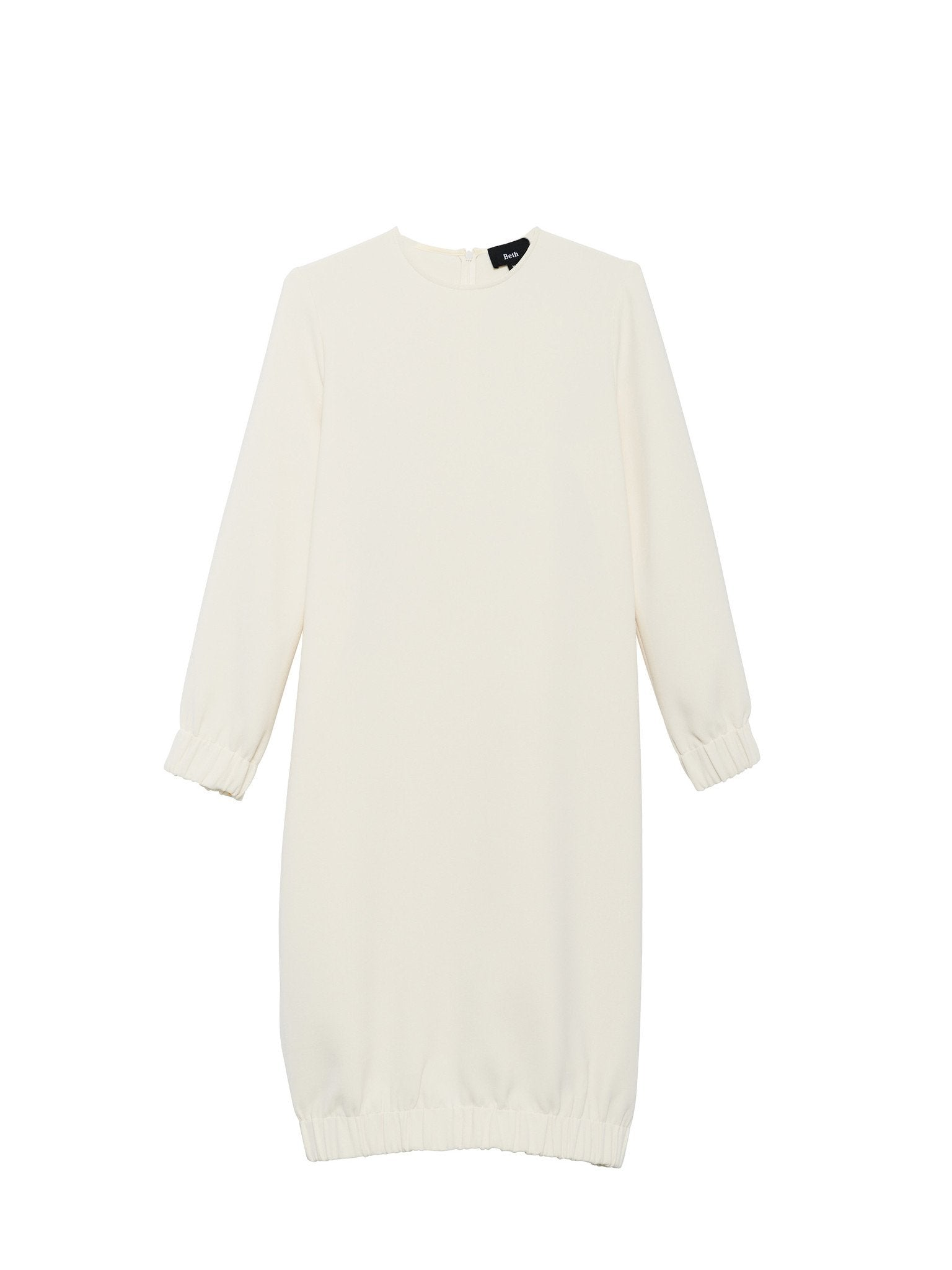 Bridge Dress / White Crepe