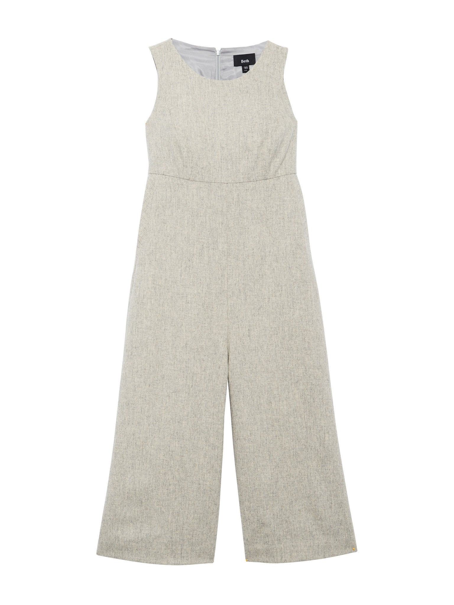 Loft Jumpsuit / Grey Wool