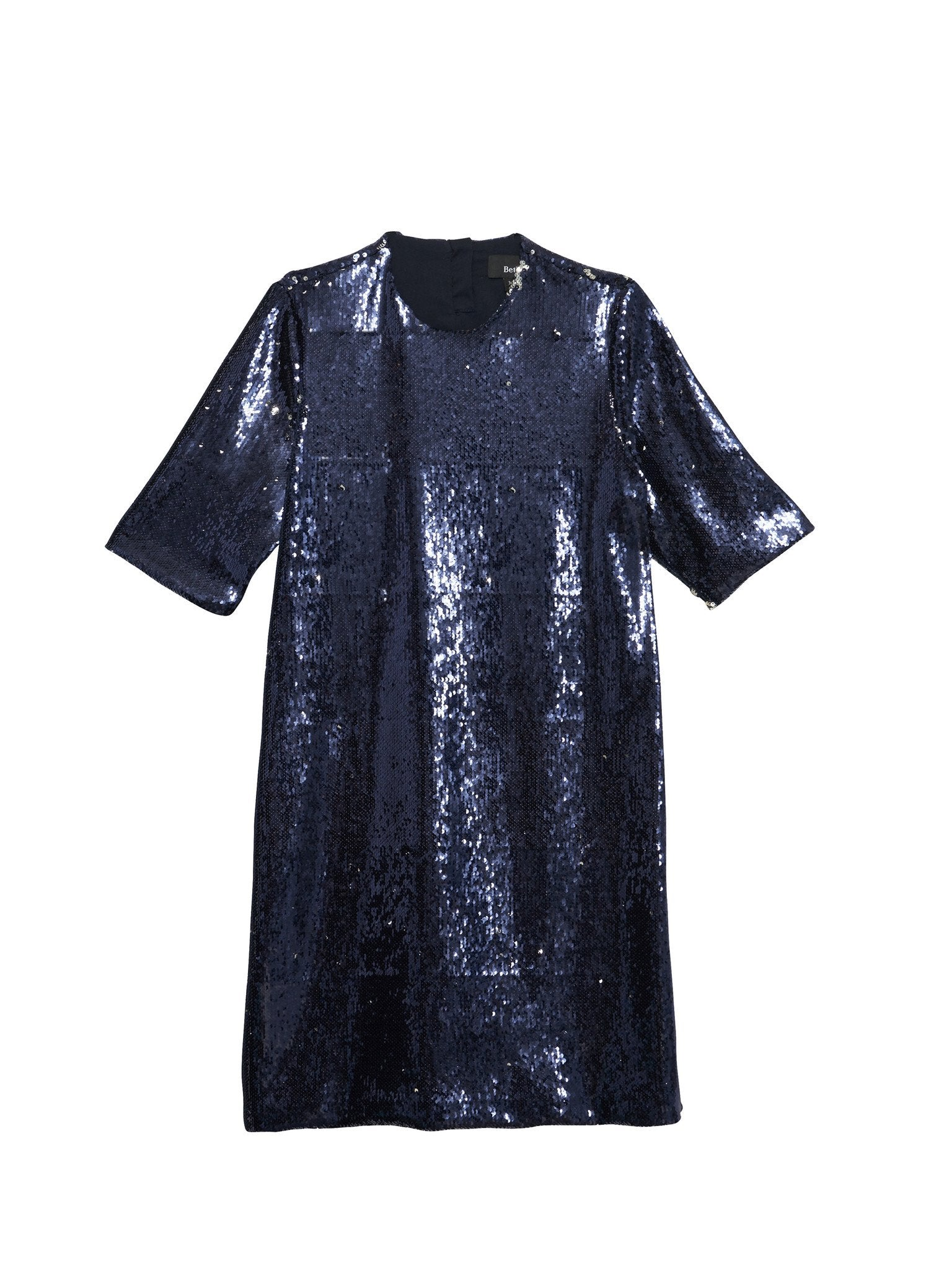 Park Dress / Navy Sequins