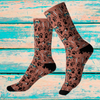 Potcake Vibez Sublimation Socks