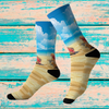 Konk Beach Sublimation Socks