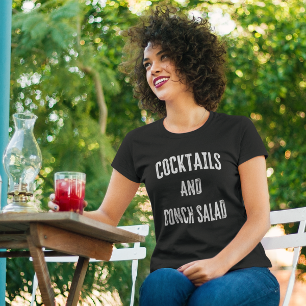 Cocktail and Conch Salad Women's t-shirt