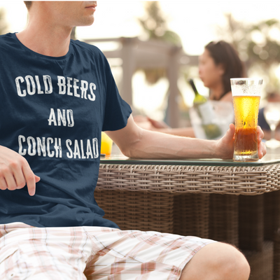 Cold Beers and Conch Salad