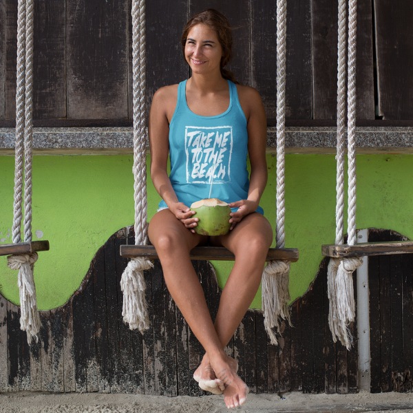 Take Me To The Beach Racerback Tank