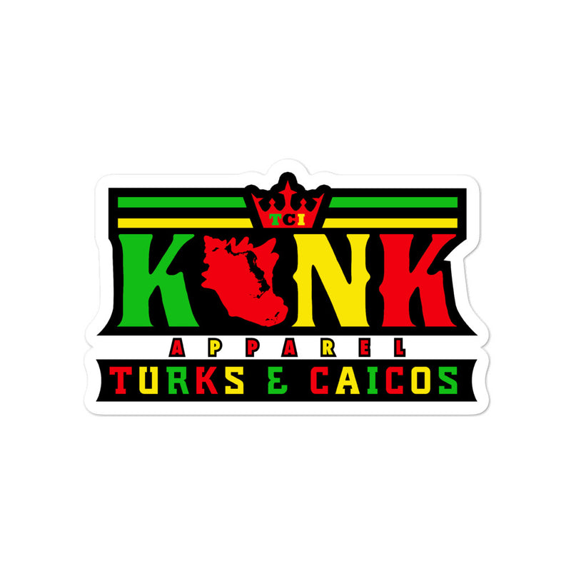 Konk Apparel Stickers (Irie)
