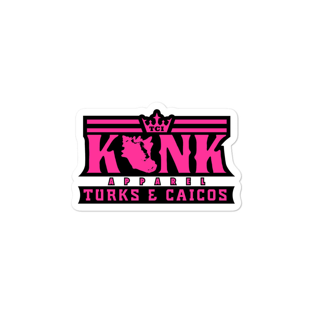 Konk Apparel Stickers (Pink)