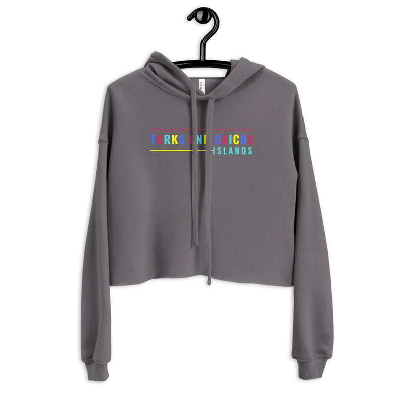 Local Colors Crop Hoodie